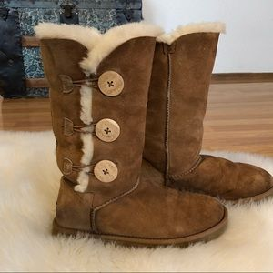 UGG Tall Bailey Button Boots